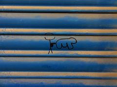 urban pictionary (maximorgana) Tags: blue urban brown dusty couple dust shag yello pictonary