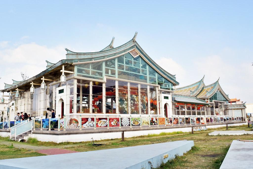 【彰化】華人第一的玻璃媽祖廟-台灣護聖宮