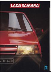 Lada Samara 3-door brochure 1987 (sjoerd.wijsman) Tags: auto cars car 1987 voiture vehicle brochure lada samara fahrzeug folleto prospekt carbrochure opuscolo brochura ladasamara broschyr autobrochure