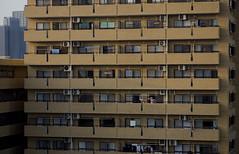 Tokyo 4075 (tokyoform) Tags: tokyo tokio  japo japn  giappone nhtbn tquio           chrisjongkind tokyoform alone sozinho  shinagawa balcony  towelingoff shower naked nude oldman city     ciudad cidade ville stadt urban  people orangbanyak