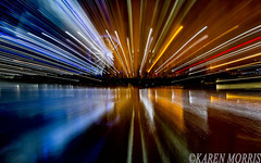#83 Zoom Effect (116 Pictures In 2016) (kazmorris) Tags: 116picturesin2016 albert dock water zoom liverpool merseyside wheel lights night long exposure creative