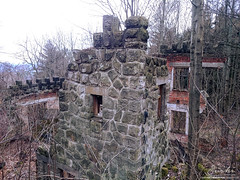 Hospoda Lebedrna #01 (FeetNoBorders) Tags: old abandoned unknown lost forgotten wasted decay czech republic republika r esk cz feetnoborders nohybezhranic fnb panorama architecture building history historical dangerous damaged destroyed ruin mossy bricked interior exterior pub stone stoned czechoslovakia