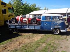 VW T1 Doka (911gt2rs) Tags: event meeting show bulli bus pritsche lang verlängert renntransporter transporter ratte ratlook umbau custom oldschool volkswagen doppelkabine coachbuilt