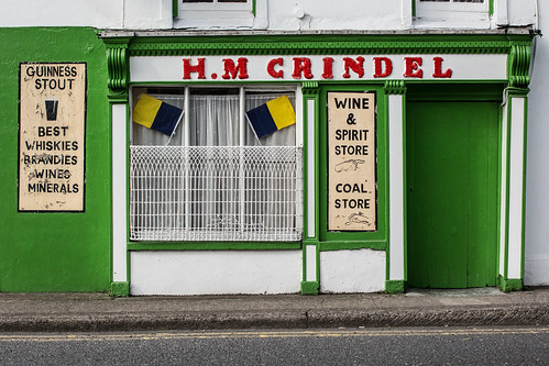 Ireland: old shop front