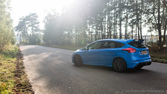 Ford Focus RS (Lars Oosterveen Photography) Tags: ford focus rs fordfocusrs fordrs focusrs blue blueoval ecoboostmotor awdmetdynamictorquevectoringcontrol dynamictorquevectoringcontrol twinscrollturbo driftmodus drift 4wd hot hatch hothatch