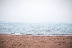 (Sameli) Tags: nature landscape sea fog shore sand beach water helsinki suomi finland