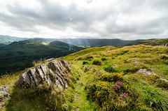 The way of beauty #I (Dream Rebellion) Tags: jaune landscape ireland irlande paysage rock green sky cloud wild natural light ray mountain nature rayon lumire irish travel road trip
