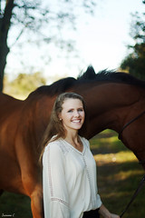 (suzcphotography) Tags: horse equine portrait girl session love animal pet canon 50mm t3i equestrian rider hunter jumper thoroughbred swagger sadie