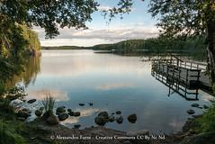 The magic lake (Alex - Born To Be Free) Tags: themagiclake lake magic landscape landscapes landscapelake lago finlandia finland lapisalmi lapinsalmipark park travel mirror panorama panoramico panoramic paesaggio water blue