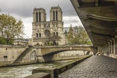 Les Tours (figer l'instant) Tags: seine architecture tour eglise art gothique cité ile paris notredamedeparis