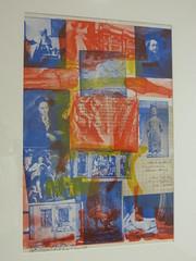 """Centennial Certificate MMa"", 1969, Robert Rauschenberg (1925-2008), Musée Ludwig, Cologne, Rhénanie du Nord-Westphalie, Allemagne. (byb64) Tags: muséeludwig peterludwig museumludwig cologne köln colonia rhénaniedunordwestphalie nordrheinwestfalen northrhinewestphalia renaniadelnortewestfalia renaniasettentrionalevestfalia rhénanie rhineland rheinland renania ville allemagne deutschland germany germania alemania europe europa eu ue rfa nrw stadt ciudad town citta city musée museum museo artmoderne xxe 20th artcontemporain robertrauschenberg rauschenberg lithographie centennialcertificatemma lithography lithografie litografia néodada popart"