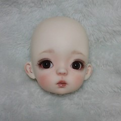 Baby Soo! (ElfinHugs) Tags: miadoll baby soo bjd custom faceup by shell