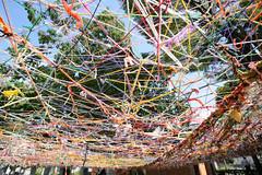 20161007 Triennale Okazaki 7 (BONGURI) Tags:    jp color colorful yarn  wool   netproject joomod  aichitriennale2016 aichitriennale triennale triennale2016  2016   art kagodapark  okazaki  aichi  nikon df cosina cosinavoigtlndercolorskopar20mmf35sl2naspherical