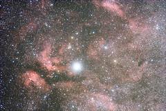 Nebel um Gamma Cygni (astroaxel) Tags: spanien andalusien canillas de albeida gamma cygni nebel gasnebel dunkelwolke milchstrase