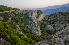 (ilanakri) Tags: greece meteora hill monastery