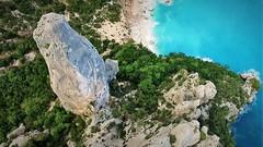 Spire Goloritzè (lorenzo -foto-) Tags: sardegna sardinia baunei climbing ogliastra goloritzè cala guglia peak alpinismo alpinist arrampicata drone video
