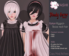 [^.^Ayashi^.^] Kotori hair special for Bloody Horror Fair 2016 (Ikira Frimon) Tags: rigged hud anime m3 utilizator nice head mesh ayashi doll outfit hair blogger costume frimon ikira follow post blog fashion sl life second event girl beautifully special exclusive tsg kawaii kawai cute hairs sensuality lovely sexually cosplay short quiff forelock bang obliquefringe unevenbangs rim ring circle border fillet kotorihairspecialforbloodyhorrorfair2016 kotori bloodyhorrorfair2016 bloody horror fair bloodyhorror