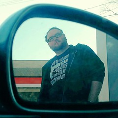I like to creep on Dan when he's pumping gas. He has total RBF.  #loveatfirstpump #menwithRBF (Jenn ) Tags: ifttt instagram