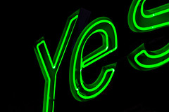 yes neon (xcheneba) Tags: color pop light contrast night dark neon store ad advertisement late saturated clear lights abstract