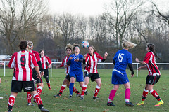 Altrincham LFC vs Stockport County LFC - December 2016-165 (MichaelRipleyPhotography) Tags: altrincham altrinchamfc altrinchamlfc altrinchamladies alty amateur ball community fans football footy header kick ladies ladiesfootball league merseyvalley nwrl nwrldivsion1south nonleague pass pitch referee robins shoot shot soccer stockportcountylfc stockportcountyladies supporters tackle team womensfootball