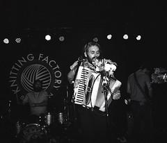 img003 (S1NCE_ALWAYS) Tags: concert music livemusic brooklyn knittingfactory mamiya7 80mm nikonsb26 flash mewithoutyou 6x7 mediumformat film analog
