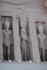 Temple of Nefertari (gilmorem76) Tags: egypt egyptology abu simbal egyptian hieroglyphs ancient history statue stone carving travel tourism