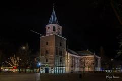Grote kerk, Emmen (Rene Mensen) Tags: grote kerk church emmen thenetherlands drenthe long exposure night light