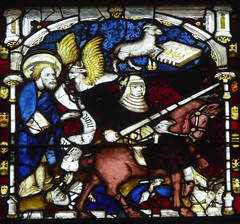 Opening of the 2nd Seal (Aidan McRae Thomson) Tags: york minster cathedral yorkshire stainedglass window medieval johnthornton