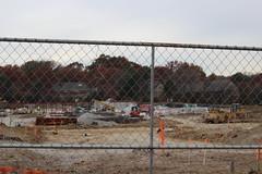 Former JHS (bobmendo) Tags: meadowbrookjuniorhighschool meadowbrook demolition emptyspace removal startover fence fencing leftover gone
