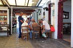 Ikaria time... (Steenjep) Tags: ikaria holiday ferie greece grkenland lunch food agioskirikos backgammon