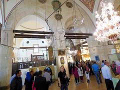 Konya - Mevlana Turbesi, shrine interior, pilgrims (2) (damiandude) Tags: rumi dervish sufi