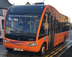 Perryman Buses YJ64 DWD (24.11.2016) (CYule Buses) Tags: serviceb6 solosr optare optaresolosr westcoastmotors perrymanbuses yj64dwd