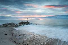 Mudeford Spit, Sunrise (Darren Marks) Tags: christchurch dorset hengistburyhead longexposure sunrise sunset groyne