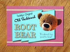 IMG_1117 (keila.dubois) Tags: bear soda vintage greeting card postcard art artwork digital print
