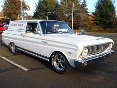 1965 Ford Falcon Sedan Delivery (splattergraphics) Tags: 1965 ford falcon sedandelivery carshow eastpennmodifiers indianvalleycenter telfordpa