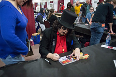 nathalie and svengoolie. november 2016 (timp37) Tags: signing autograph illinois november 2016 chicago pop culture con convention nat nathalie svengoolie st charles