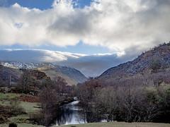 Snowdonia (chromaphoto.co.uk) Tags: snowdonia nationalpark northwales snow landscape colour color afon river ogwen clouds baretrees scree rocks mountain hills trees