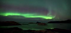 Aurora Reflection (mansachs) Tags: auroraborealis aurora nordlys nordsken nordnorge northern light norway troms sommarøy polarlight polarcircle landscape northernnorway northernhemisphere