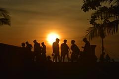 Sunset at Bali Beach, Seminyak. (Manoo Mistry) Tags: bali indonesia seminyak nikond5500body nikon tamron18270mmzoom sunset silhouette