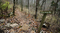 sign (cleotalk) Tags: asbury trails ky kentucky hiking wilmore