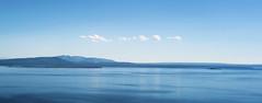 Yellowstone Lake (Yek Huang) Tags: blue sky mountain lake nature water landscape nikon montana idaho yellowstonenationalpark yellowstone wyoming pure d4s
