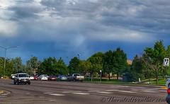 August 27, 2015 - Tough to see but a a cool circumhorizontal arc - aka fire rainbow. (ThorntonWeather.com)