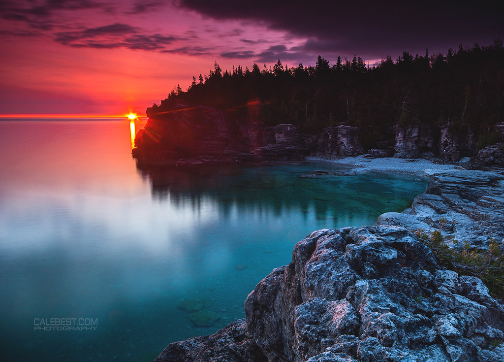 Camping London Ontario >> The World's Best Photos of indianheadcove and rocks ...