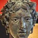 Head of a Young Bacchus Roman 1 - 50 CE Bronze and Silver