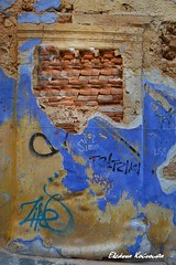 Chania old town (Eleanna Kounoupa) Tags: graffiti ruins greece crete oldtown chania