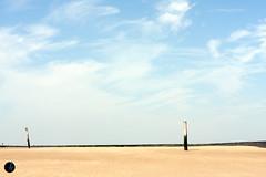 Zeeland (~shrewd~) Tags: wood sea sky holland beach water dutch strand sand meer wasser nederland himmel zeeland zee fav20 pillars nordsee holm pfeiler northsee säule fav10