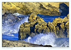 Surf Crashing on Rocks (lhg_11, 2million views. Thank you!) Tags: beach surf malibu telephoto southerncalifornia leocarrillostatebeach