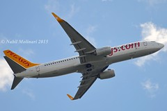 """""""Ceren"""" Pegasus Airlines TC-CPG Boeing 737-82R Winglets cn/40880-4288 @ LFPO / ORY 09-05-2015 (Nabil Molinari Photography) Tags: pegasus company boeing dd airlines current ff 2012 winglets the ceren ory 4288 40880 lfpo 73782r 121912 121112 cfm567b26 fsgj tccpg 09052015 4b8e07 viewtccpg cn408804288"""