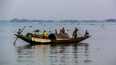 Boat, Meghna (arnabjosephite) Tags: people kids river children boat factory dhaka bangladesh meghna naryanganj childrenoftheriver meghnariver amancementmills sonragaon amancement amanmills