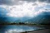Awn (hiphopmilk) Tags: lomo lca lomography 35mm 135film fuji fujicolor fujifilm superia 200 film taiwan analog analogue jaredyeh hiphopmilk taitung sky cloud valley hill east rift paddy field water rice awn